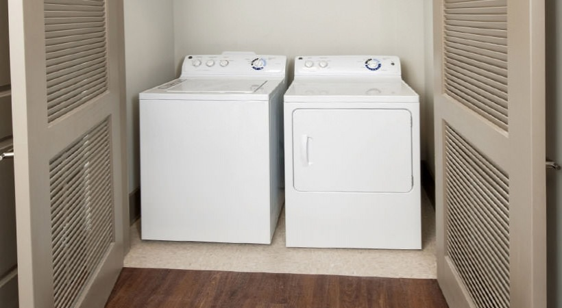 Washer / Dryer in each unit
